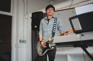 Guitarist Nick Ho