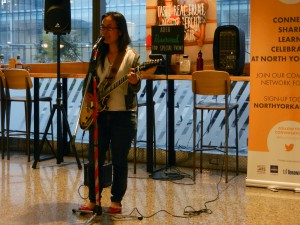 Darling Cora performed her originals at CCJAM August 2015 at Whole Foods.